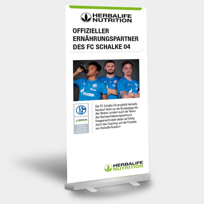 Offizieller Ernährungspartner des FC Schalke 04