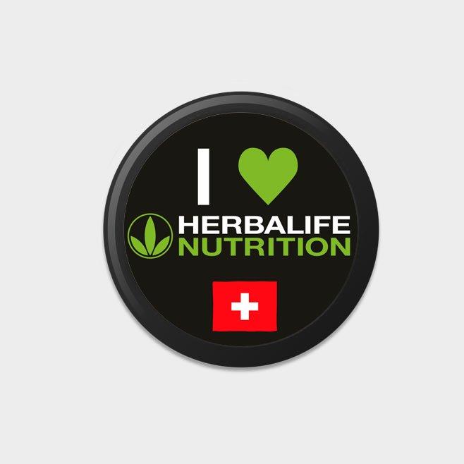 Herbalife Buttons (10 Stück) CH