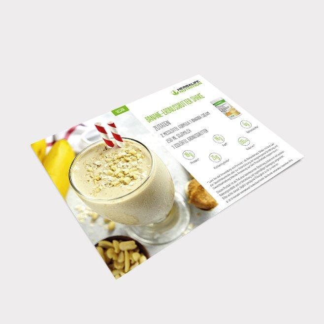 Share a Shake Banane Erdnussbutter Shake - 25 Stück