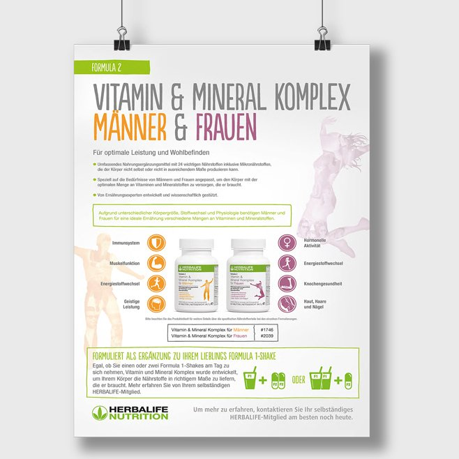 Vitamin & Mineral Komplex Männer & Frauen
